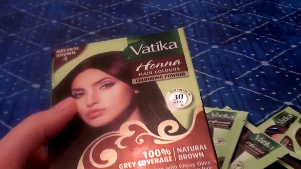 Vatika Henna Hair Colours Henna Based Natural Brown By Dabur