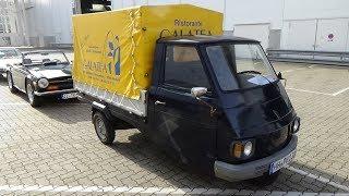 Download Video 1990 Piaggio Ape Pritsche - Hamburg Motor Classics 2017 MP3 3GP MP4