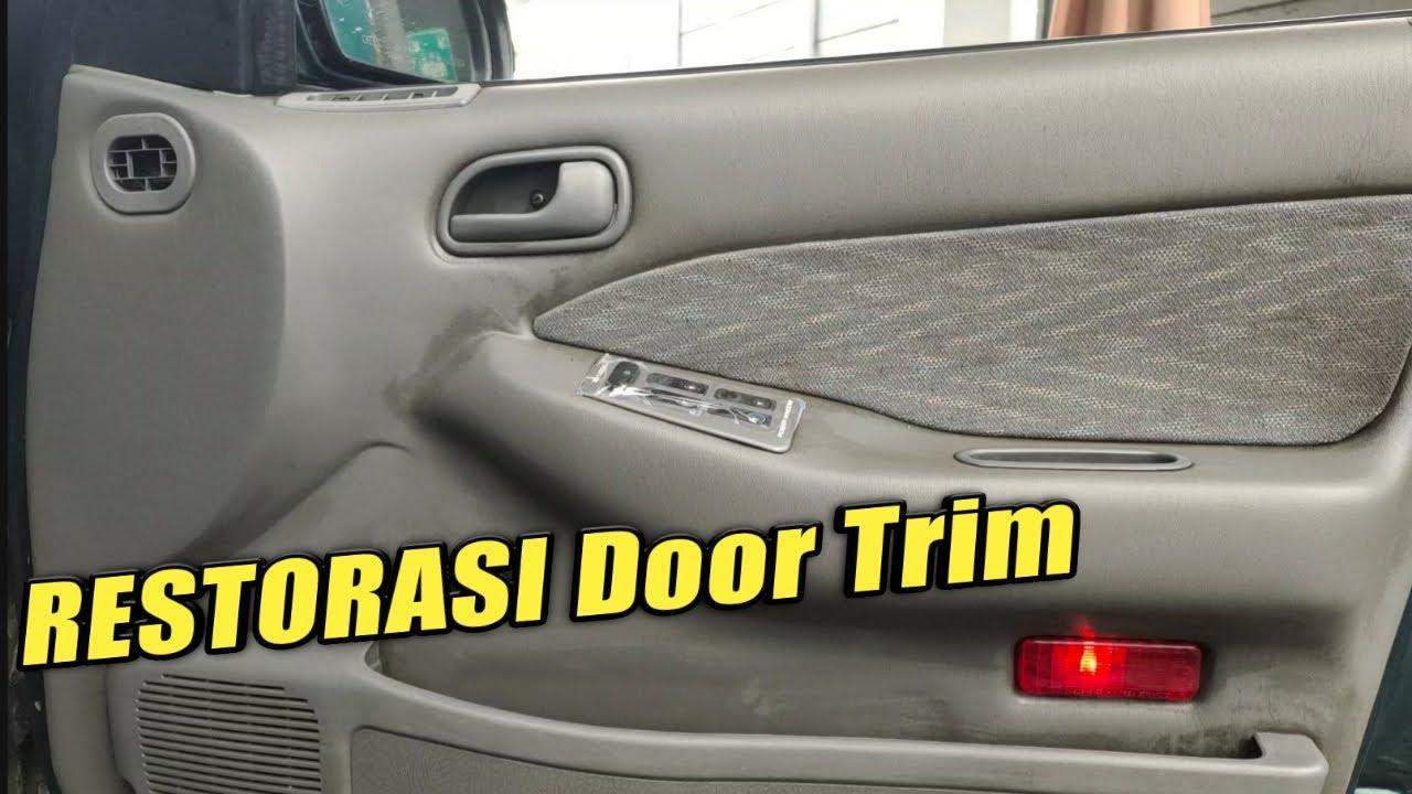 Cara Mudah Bersihkan DOOR TRIM MOBIL,Kotoran Menahun Lenyap