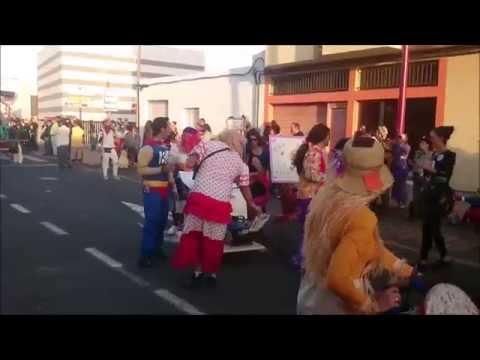 Fuerteventura.- Coso Carnaval Puerto del Rosario 2014 ( I )