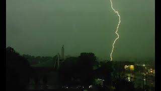 Burza na Górnym Śląsku 14 lipca 2021