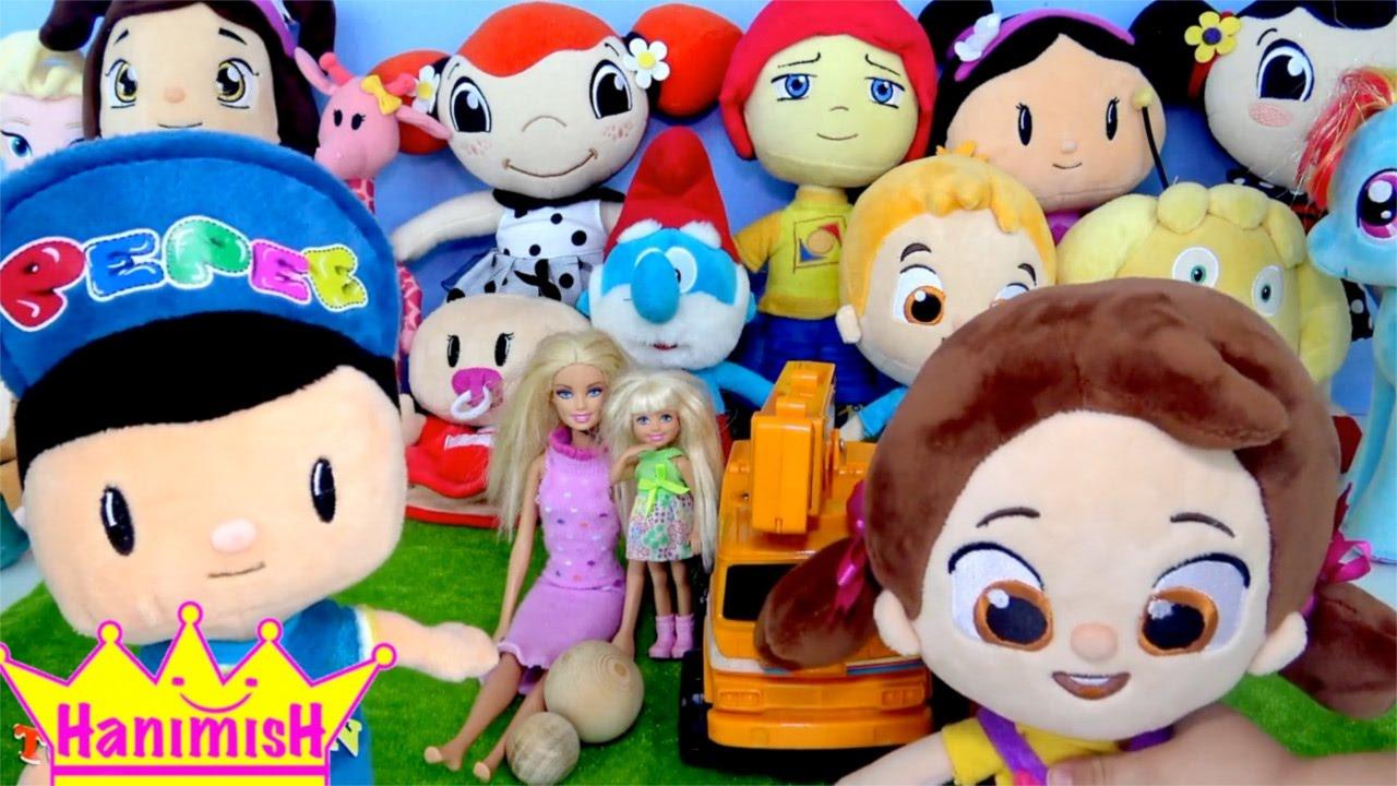 Niloya ve Pepee oyuncaklarıyla Büyük küçük kavramlarını öğreniyoruz - Niloya çizgi filmi oyuncağı 4k