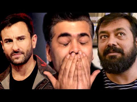 Saif Ali Khan, Anurag Kashyap SUPPORT Karan Johar In Pakistan Actors Controversy