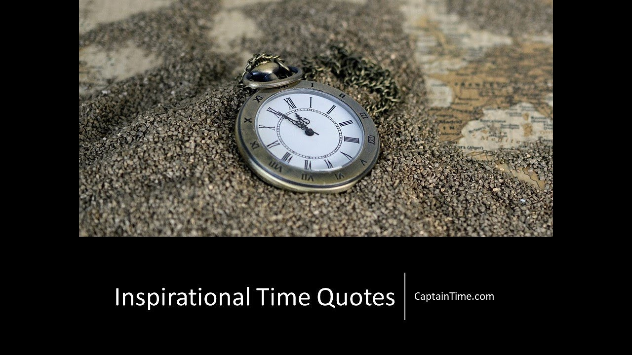 Inspirational Time Quotes Time Management Training