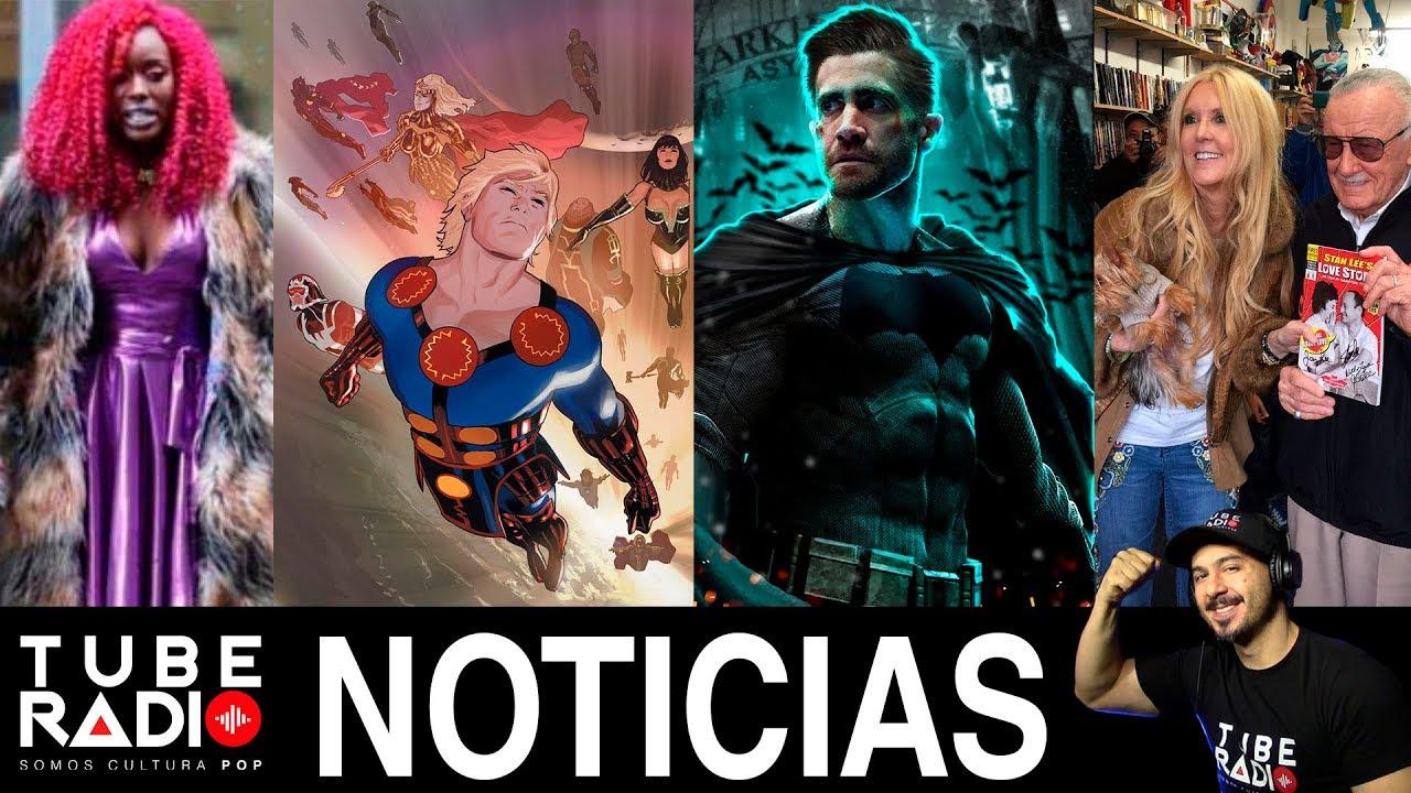 Tube Radio Teen Titans, The Eternals, Aquaman, Infinity -4519