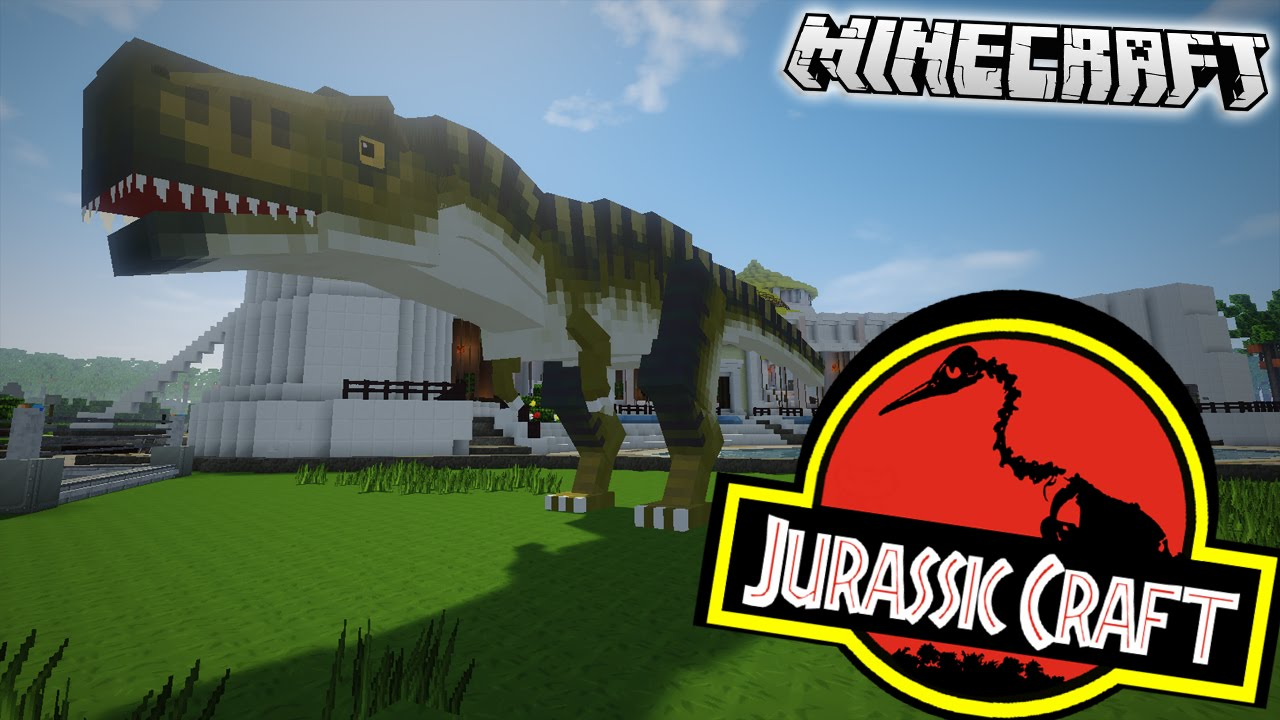 JURASSIC WORLD MINECRAFT – Jurassic World Map Minecraft 1 7 10