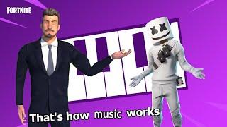 Mafia City ad (V2 in description) music using fortnite music blocks