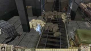 Men of War: Red Tide stealth gameplay short