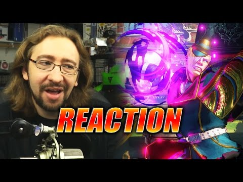 MAX REACTS: Ed Reveal & Gameplay (Street Fighter 5)