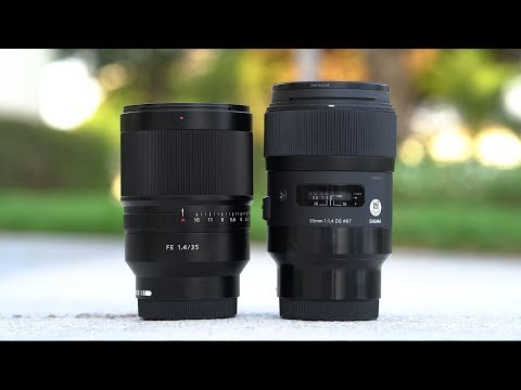 Sigma Art 35mm f/1.4 or Zeiss 35mm f/1.4 - Which am I going to Buy? - Sony a7III a7RIII a6500 a6000