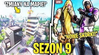 SEASON 9!! CHANGES ON THE MAP! NEW SKINS! Information! FORTNITE