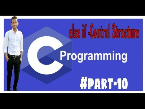 else if - Control Structure in C language |#part-10| C Tutorial Programming Language thumbnail