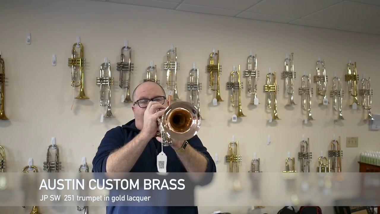 new john packer sw 251 trumpet for sale at acb youtube. Black Bedroom Furniture Sets. Home Design Ideas