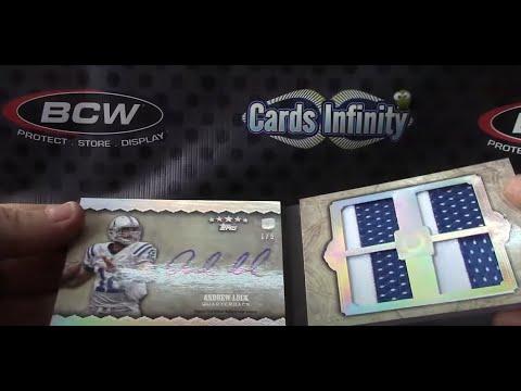 LakerStan's 2012 FIVE Star & Exquisite Football 3 Box Break