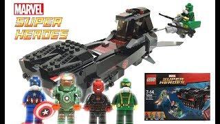【レゴ】ドッキリ仕掛けてます。1月15日発売のマーベル スーパーヒーローズ アイアンスカルのサブアタックをレビュー!! thumbnail