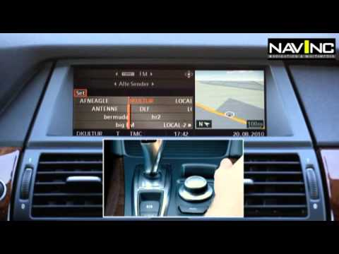 Navinc Usb Link Bmw Idrive Ccc Professional Youtube