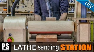 Lathe Sanding Station: Thickness Sander Part2