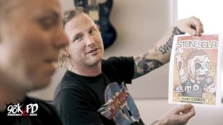 Corey Taylor & Josh Rand From Stone Sour Live At 98KUPD