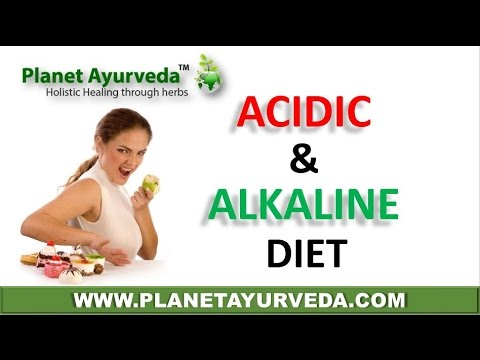 What is Alkaline and Acidic Diet | Alkaline & Acid Forming Foods