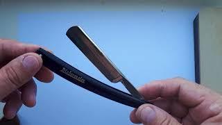 BIEDERMEIER 111 straight razor. Хенкель золинген. ...