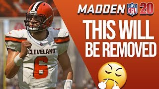 5 Things That Will Be Removed From Madden 20 - New Leaks!