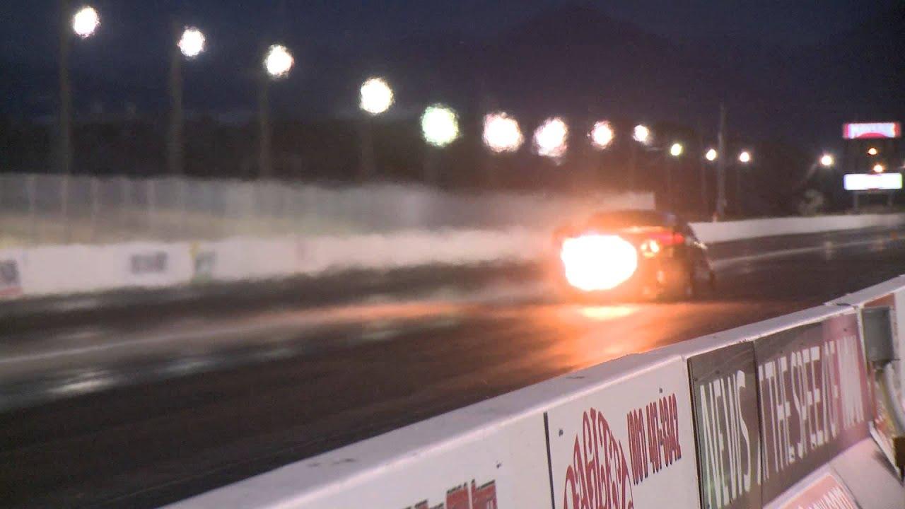 Jet Cars Racing At Rocky Mountain Raceways In Salt Lake City Ut