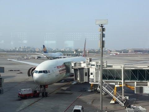 Air India Boeing 777-300ER Business Class   AI-102   New Delhi - Mumbai   Full Flight Experience