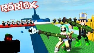 СПАСИ ГОРОД АДОПТ МИ! Папа и Робмикс должны ЗАЩИТИТЬ БАШНЮ! Doomspire Brickbattle ROBLOX!