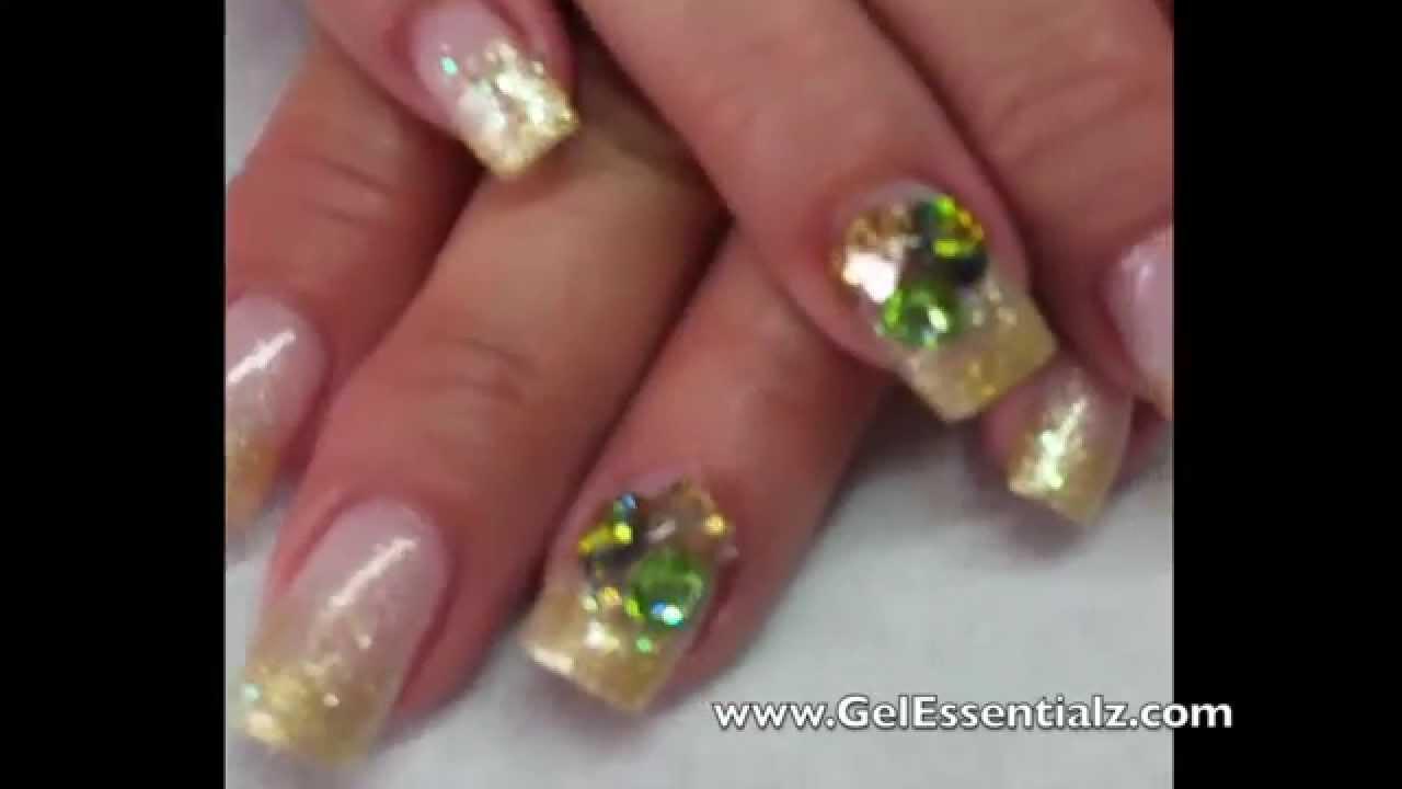 Swarovski Crystal Nail Designs | galleryhip.com - The Hippest Pics