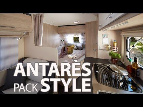 Antarès Style 2018 // Caravanes Caravelair