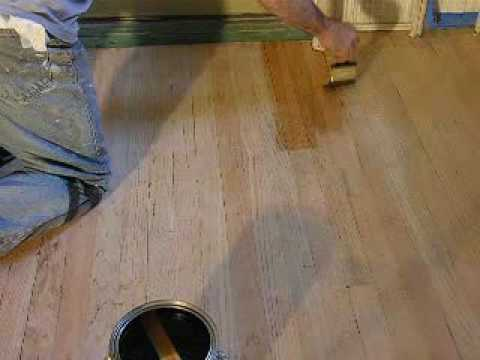 How To Sand And Save A Wood Floor Youtube