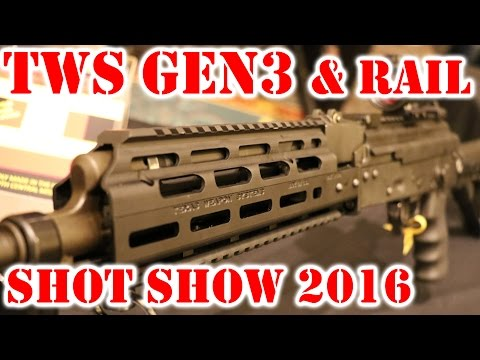 TWS Shot Show 2016 - Texas Weapons Systems Update