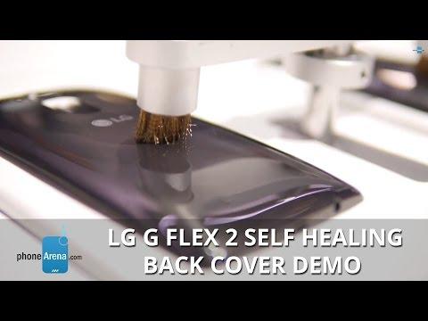LG G Flex 2 Self Healing Back Cover Demo