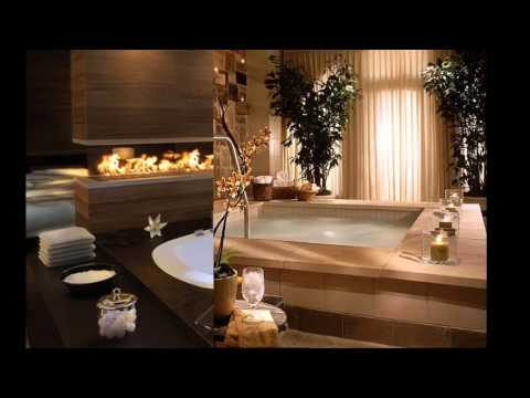 Home spa design decorating ideas - YouTube
