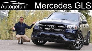 All-new Mercedes GLS 580 V8 vs 450 R6 FULL REVIEW documentary - Autogefühl