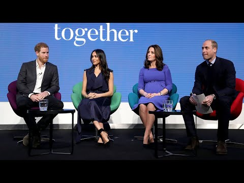 Royal 'Fab Four' launch new project with historic mental health advert