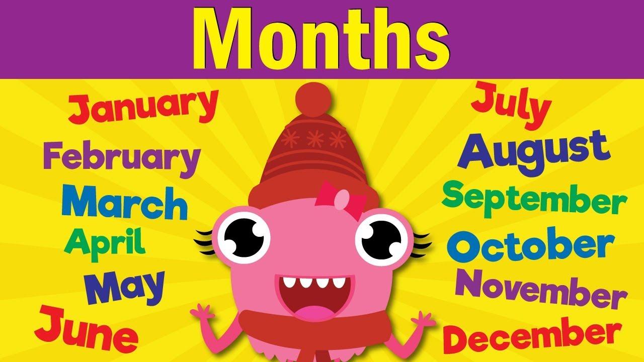 Months of the Year Song | Learn the 12 Months | Kindergarten, Preschool &  ESL | Fun Kids English