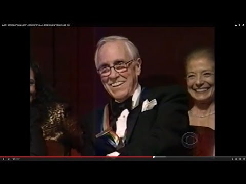 "JASON ROBARDS """"HONOREE"" - (COMPLETE) 22nd KENNEDY CENTER HONORS, 1999"