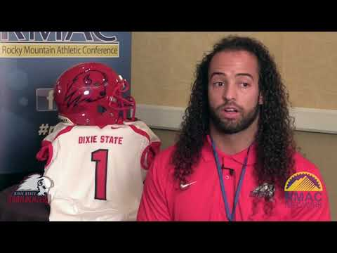 Dixie State Football Media Day One On One Interviews