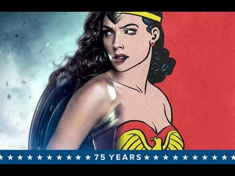 THE EVOLUTION OF WONDER WOMAN | 75 YEARS OF WONDER WOMAN | 1941 - 2016