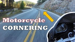 Motorcycle Cornering in *4* Main Steps