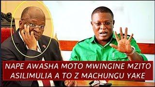 NAPE Awasha Moto Mwingine Mzito, Asimulia A to Z Machungu Aliyonayo Bunge Kutooneshwa LIVE