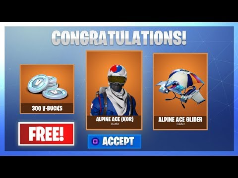 HOW TO GET ALPINE ACE KOREA SKIN IN FORTNITE FOR FREE!!