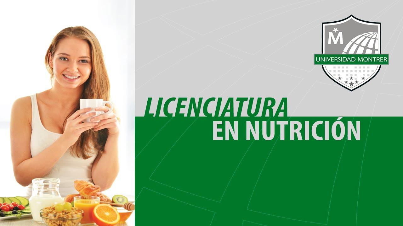 licenciatura en nutricion online dating