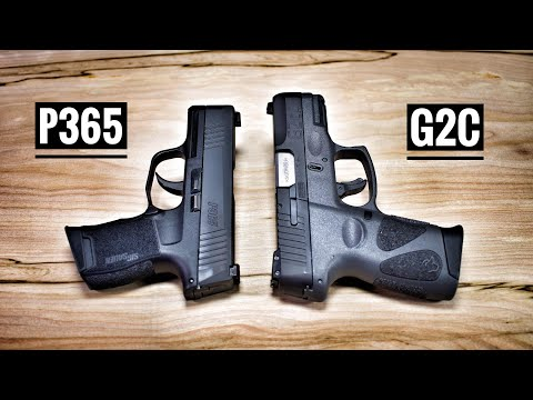 Taurus G2C vs Sig Sauer P365 - If I Could Only Have One...
