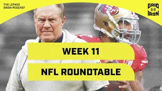 Kaepernick's Workout, Questions from Twitter & Week 11 NFL Roundtable | The Lefkoe Show