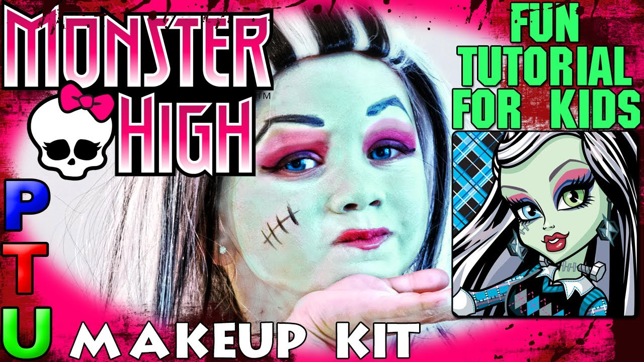Monster High Makeup Kit Tutorial Saubhaya Makeup