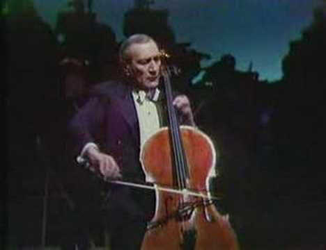 Piatigorsky plays Faure Elegie