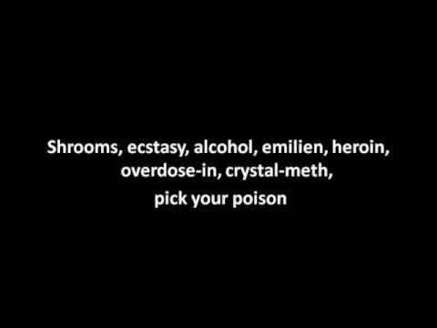 Twisted Insane-pick your poison lyrics!