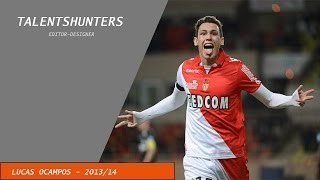Lucas Ocampos - AS Monaco - Skills, Goals, Assists- 2013/2014